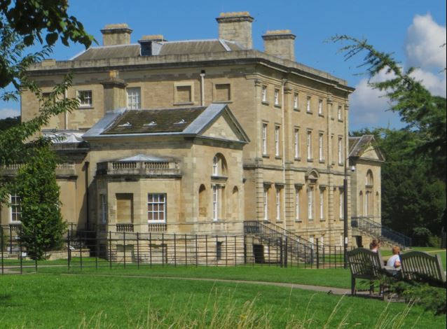 A beautiful photo of Cusworth Hall in Doncaster, an example of the Doncaster Museum