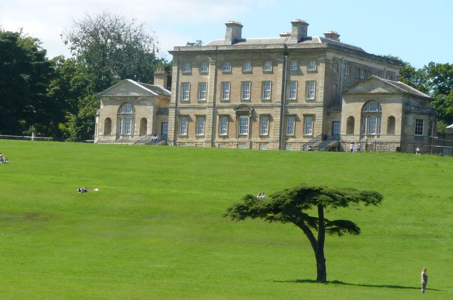 A beautiful photo of Cusworth Hall, showing off the stunning Doncaster Park