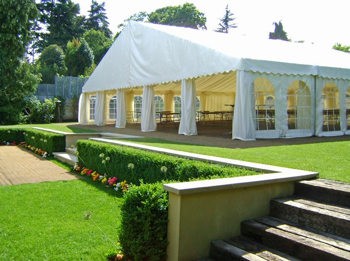 A stunning example of a Garden Wedding at Cusworth Hall, showing a stunning Marquee Hire.