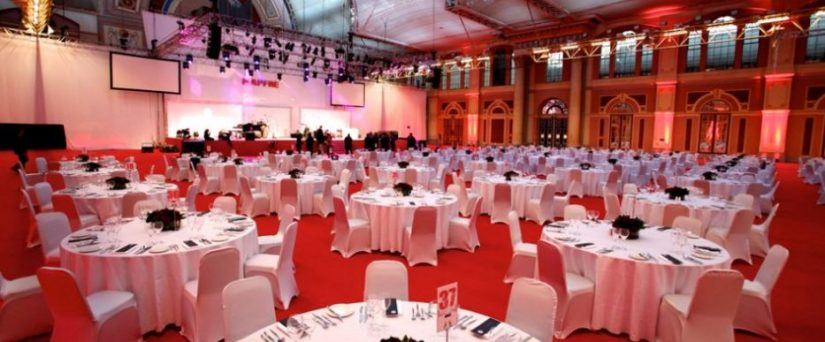 A large corporate event